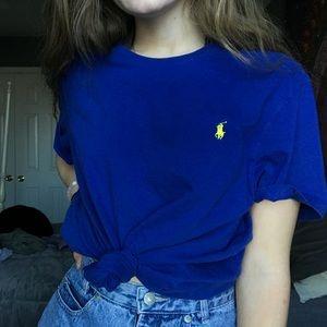 blue ralph lauren tshirt